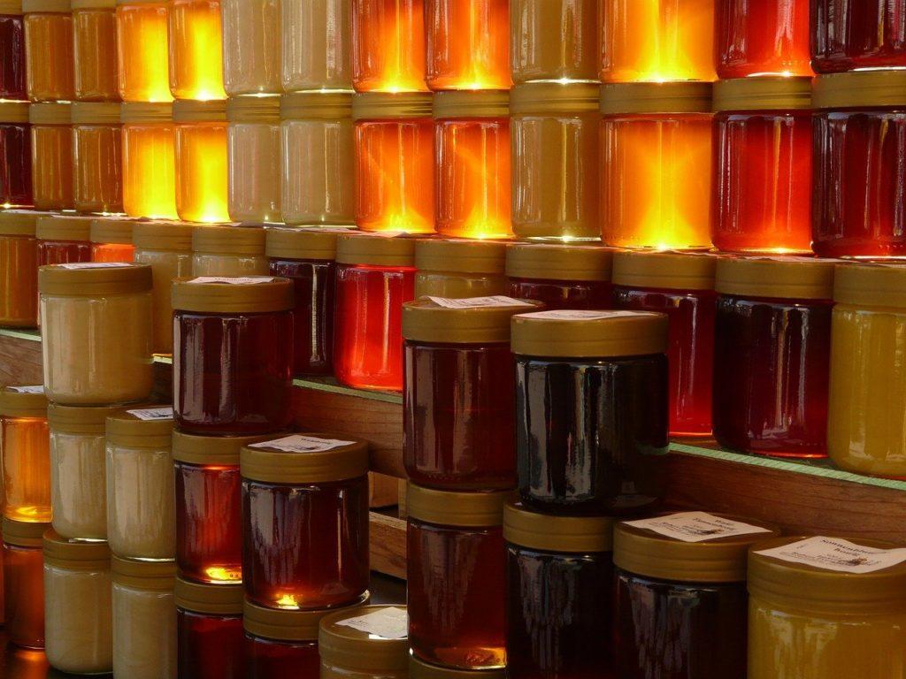 honey, honey jar, honey for sale
