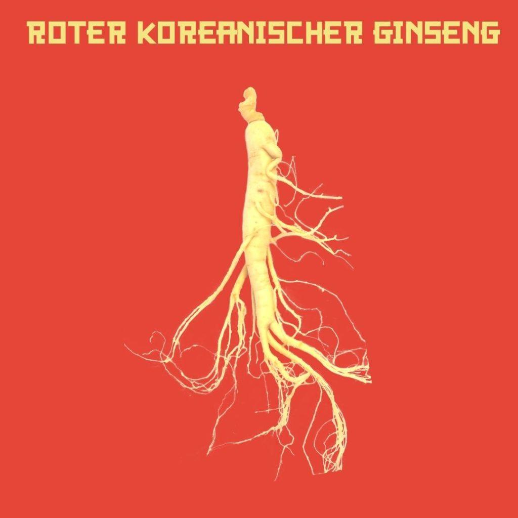 Roter Koreanischer Ginseng